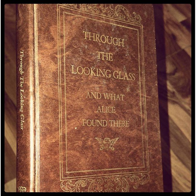 Awesome thrift shop find!  #Alice #ThroughTheLookingGlass #WisePenny #LewisCarroll #Wonderland #Thrift #ThriftShop